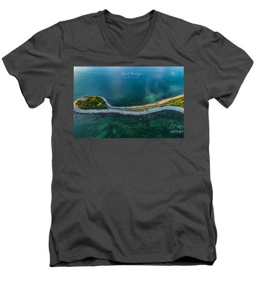 The Knob Men's V-Neck T-Shirt