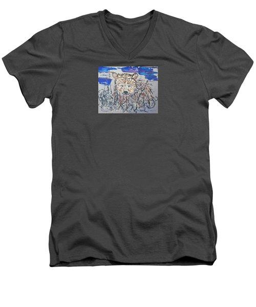 The Kodiak Men's V-Neck T-Shirt