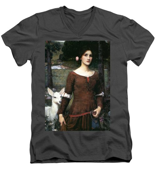 The Lady Clare Men's V-Neck T-Shirt