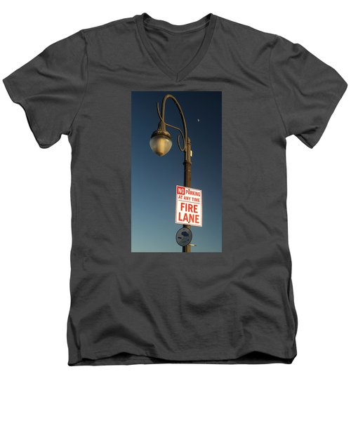 The Land Of No Men's V-Neck T-Shirt