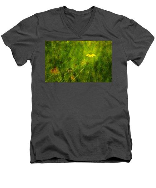 The Last Black-eyed Susan Men's V-Neck T-Shirt