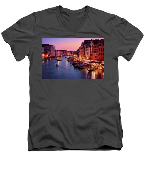 The Last Glimpse Of Traffic Men's V-Neck T-Shirt