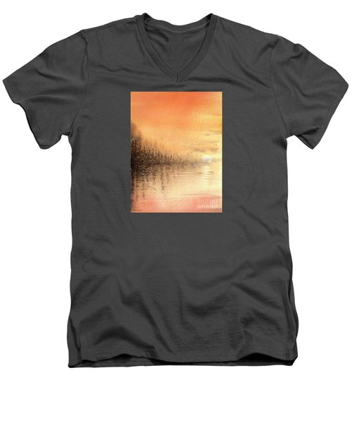 The Last Of Autumn Men's V-Neck T-Shirt