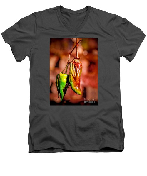 The Last Peppers Men's V-Neck T-Shirt