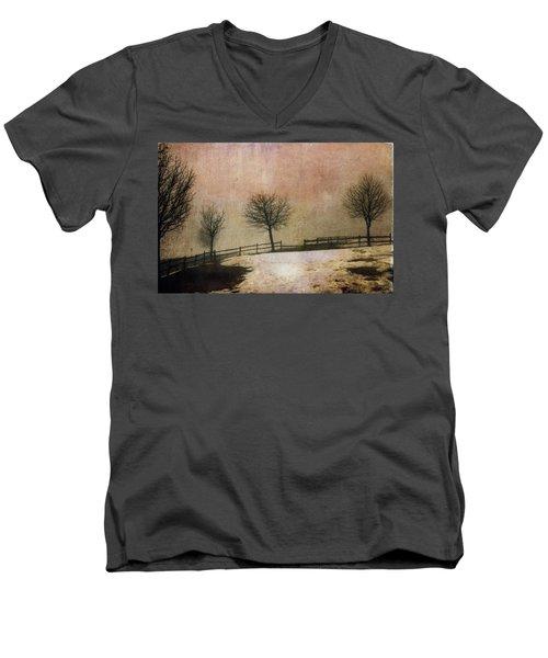 The Last Snow Men's V-Neck T-Shirt