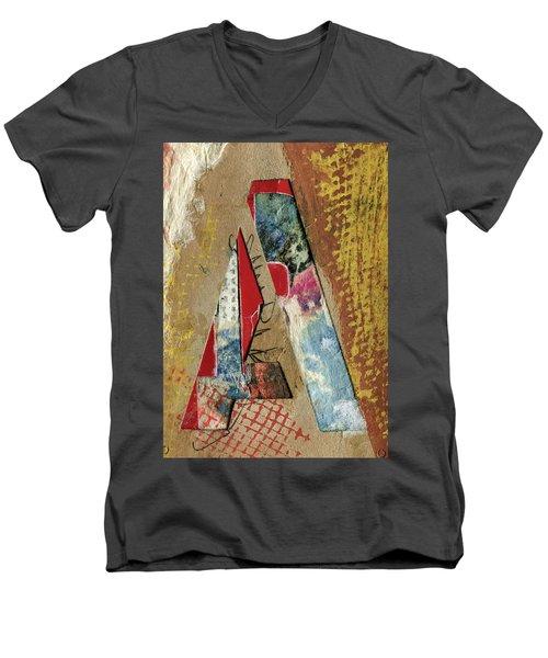 The Letter A Men's V-Neck T-Shirt