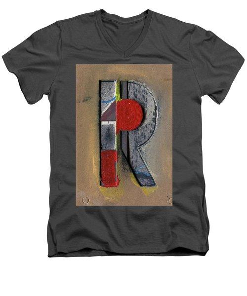 The Letter R Men's V-Neck T-Shirt