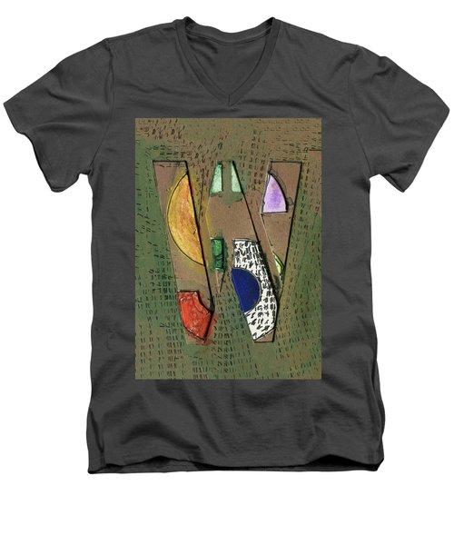 The Letter W Men's V-Neck T-Shirt