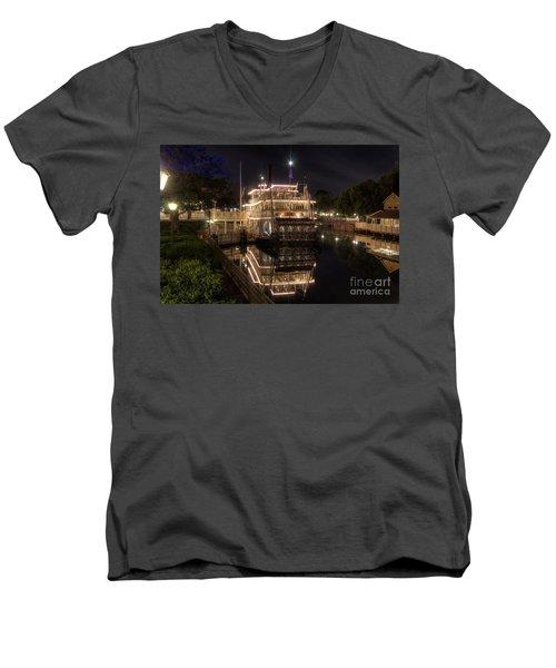 The Liberty Belle Men's V-Neck T-Shirt
