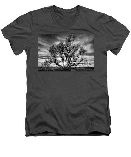 The Light Comes Through Men's V-Neck T-Shirt