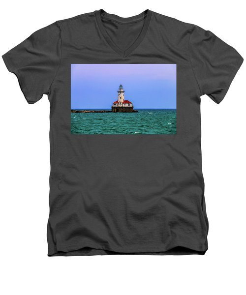 The Lighthouse Men's V-Neck T-Shirt