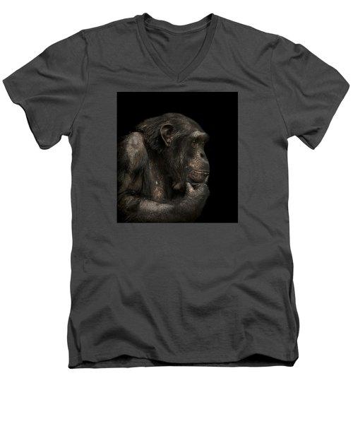 The Listener Men's V-Neck T-Shirt