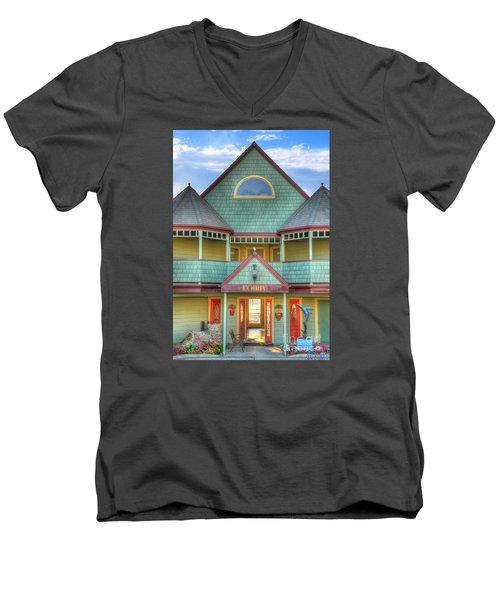 The Lobby Entrance Men's V-Neck T-Shirt