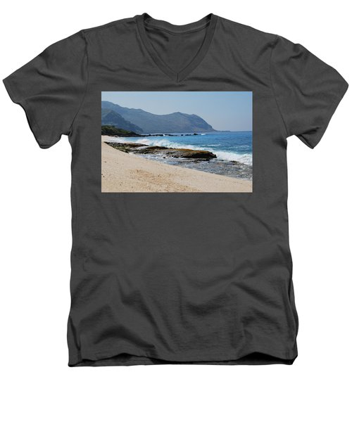 The Local's Beach Men's V-Neck T-Shirt