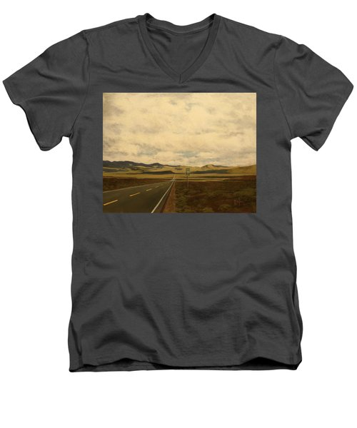 The Loneliest Road Men's V-Neck T-Shirt