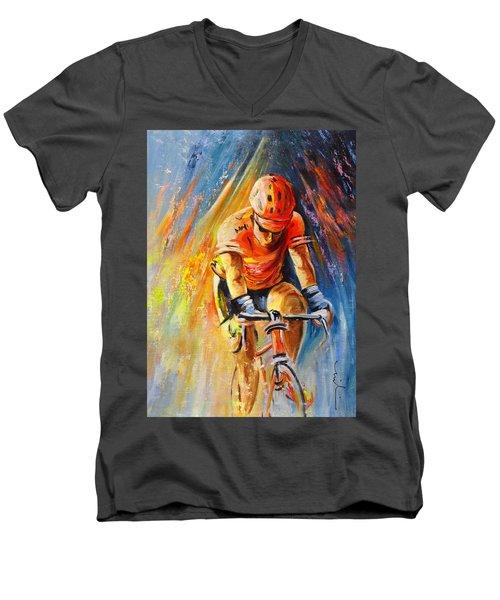 The Lonesome Rider Men's V-Neck T-Shirt