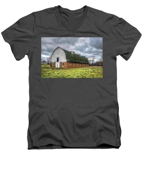 The Long Barn Men's V-Neck T-Shirt