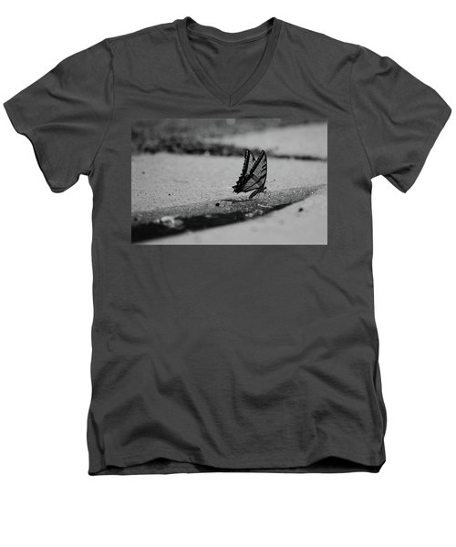 The Long Journey Men's V-Neck T-Shirt