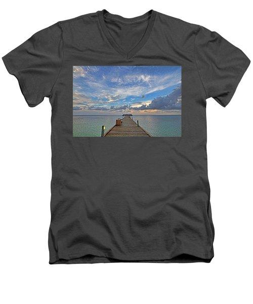 The Long Walk Men's V-Neck T-Shirt