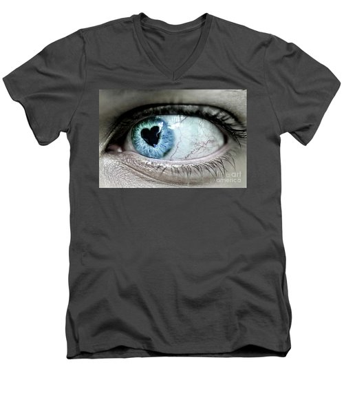 The Look Of Love Men's V-Neck T-Shirt