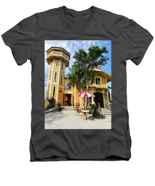 The Lyre  Men's V-Neck T-Shirt