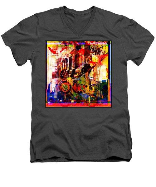 The Machine Age Men's V-Neck T-Shirt