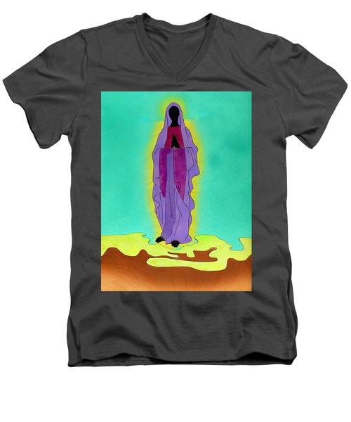 The Madonna Men's V-Neck T-Shirt