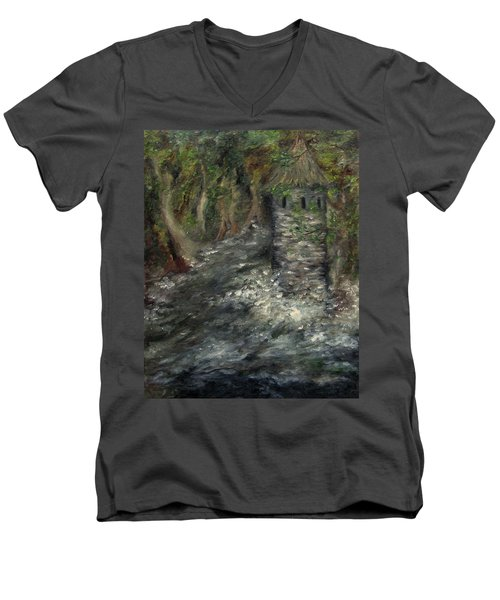 The Mage's Tower Men's V-Neck T-Shirt