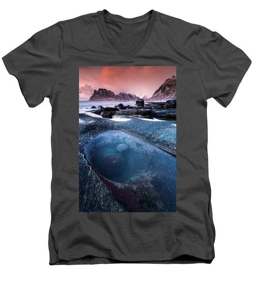 The Magic Eye Men's V-Neck T-Shirt