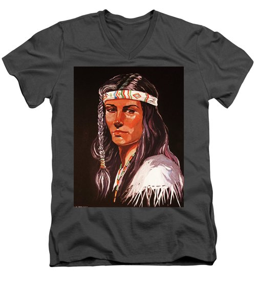 The Maiden IIi Men's V-Neck T-Shirt