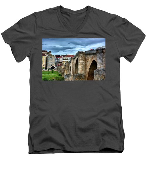 The Majestic Ponte Vella Men's V-Neck T-Shirt