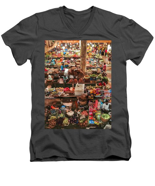 The Market Men's V-Neck T-Shirt