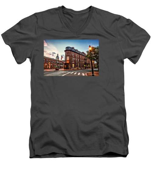 The Maryland Inn Men's V-Neck T-Shirt