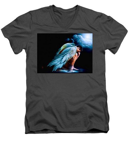 The Messenger Men's V-Neck T-Shirt