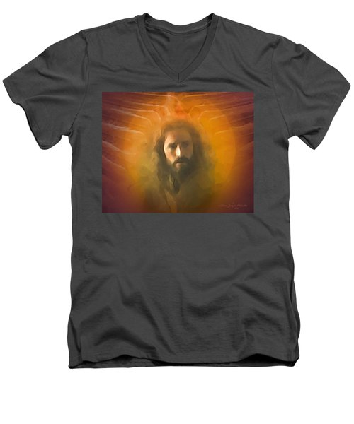The Messiah Men's V-Neck T-Shirt
