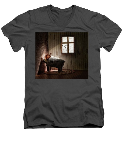 Men's V-Neck T-Shirt featuring the photograph The Metamorphosis Redux by Mark Fuller
