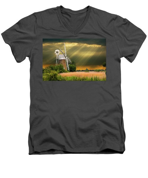 The Mill On The Marsh Men's V-Neck T-Shirt