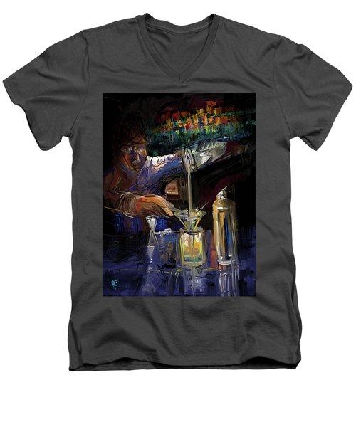 The Mixologist Men's V-Neck T-Shirt