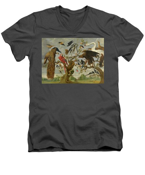 The Mockery Of The Owl Men's V-Neck T-Shirt