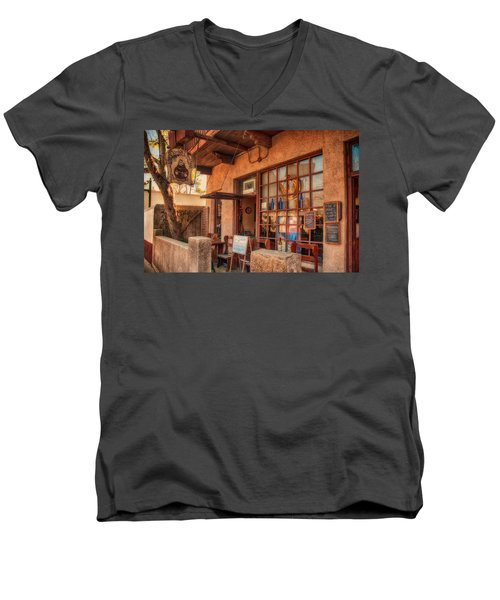 The Monk's Vineyard Men's V-Neck T-Shirt