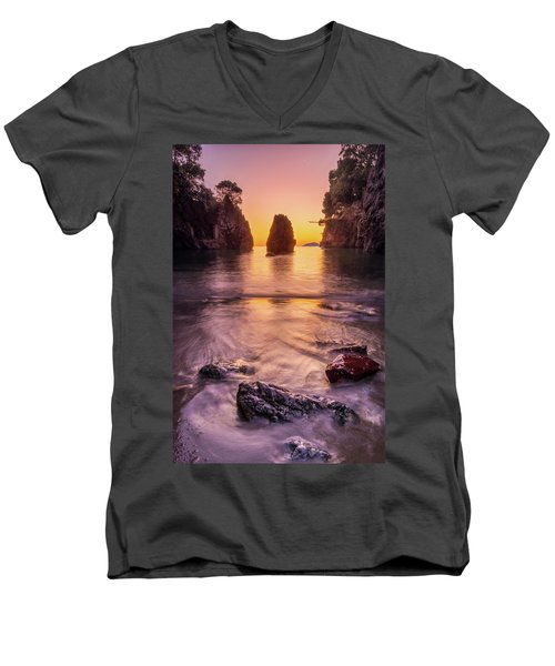The Monolith Men's V-Neck T-Shirt