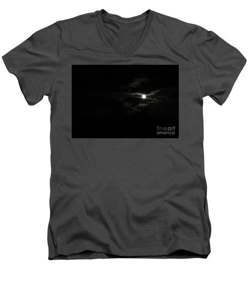 The Moon In Between Men's V-Neck T-Shirt