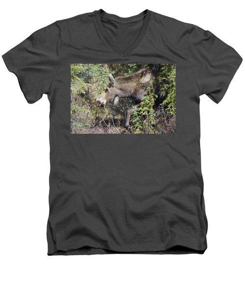 The Moose Men's V-Neck T-Shirt