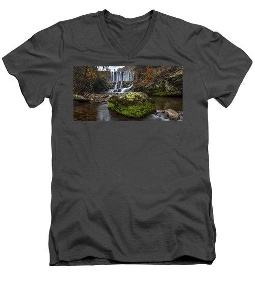 The Mossy Rock Men's V-Neck T-Shirt