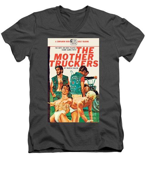 The Mother Truckers Men's V-Neck T-Shirt