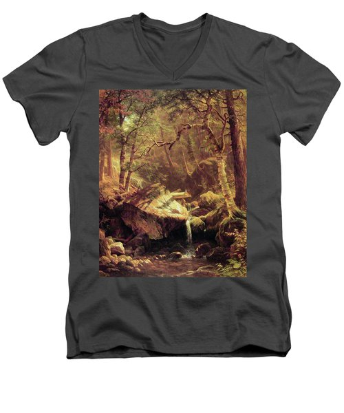 The Mountain Brook Men's V-Neck T-Shirt