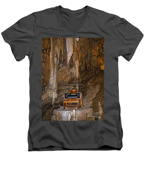 The Music Of The Ages Men's V-Neck T-Shirt