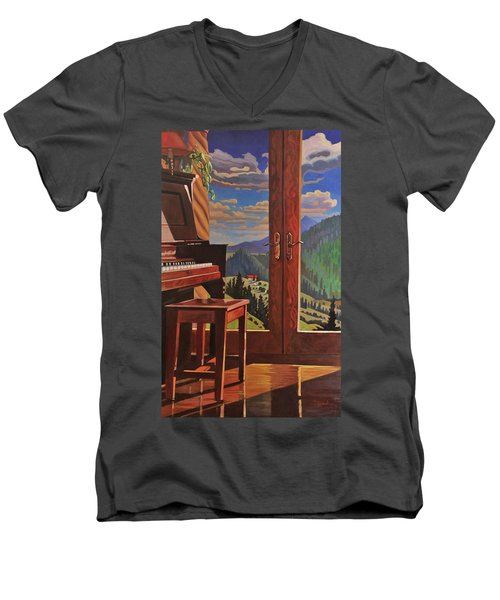 The Music Room Men's V-Neck T-Shirt