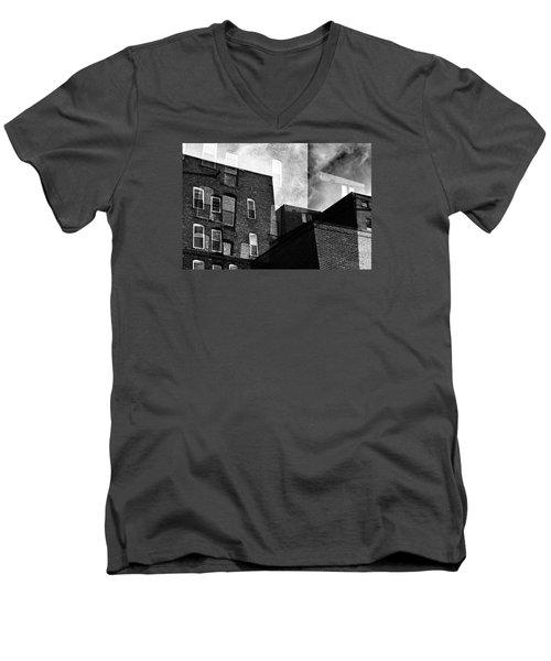 The Naked City Men's V-Neck T-Shirt
