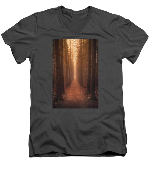 The Narrow Path Men's V-Neck T-Shirt